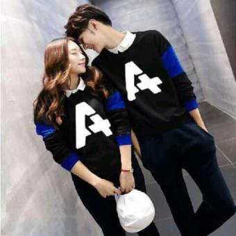 Distributor Kaos Couple Lengan Panjang - Baju Couple - Kaos Kapel - Baju Kembar