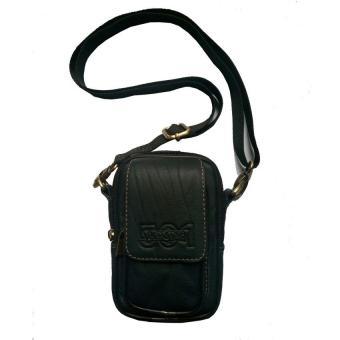 Dompet Pinggang / Slempang Pria kulit Asli Dompet Sarung handphone Tempat hp Dompet kulit Assesories Hp