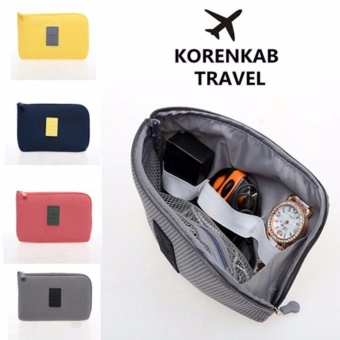 Dompet Kabel Travel / Travel Cable Pouch Korea Style Size Small