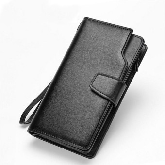 Dompet Zipper PU Leather Multicard