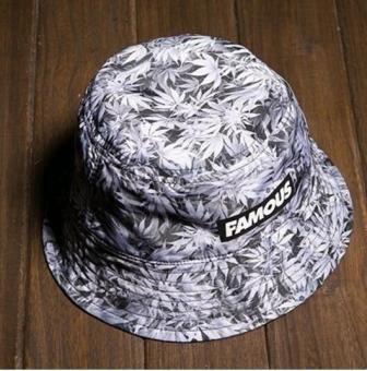 Double Wear Kapas Bucket Hat Wanita Dicetak Panama Bob Hat Musim Gugur Pria  Cool Fishing Hat 19fd2ef700