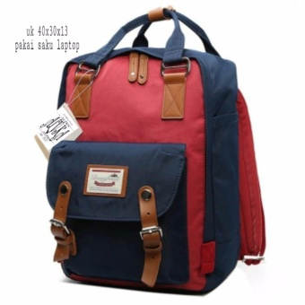 DoubleC Fashion Tas Backpack Chelsea Red