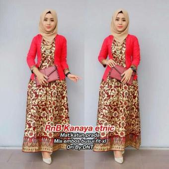 Features Dress Batik Kebaya Batik Kondangan Gamis Wanita Terbaru