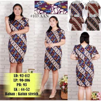 Dress Batik Wanita Jumbo