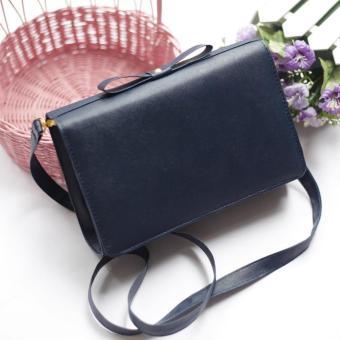 EL PIAZA Bow Navy Bag Clutch Bag - Sling Bag Pita - Sling Bag Tas Genggam