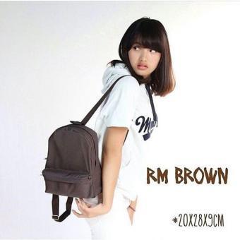 EL Piaza Mini Ransel Backpacks Kanvas/Sling Bag - Tas Ransel Wanita Tas Modis Wanita
