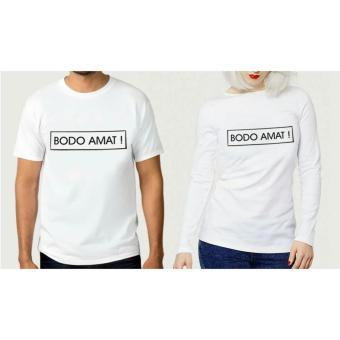 INC Tumblr Tee / T-Shirt / Kaos Couple Bodo Amat - Putih