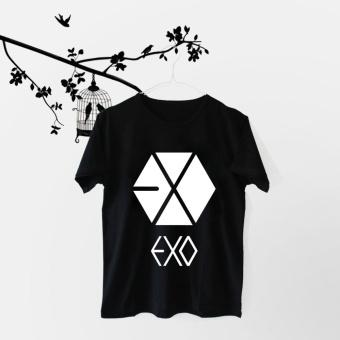 INC Tumblr Tee / T-Shirt / Kaos Wanita EXO Logo - Hitam