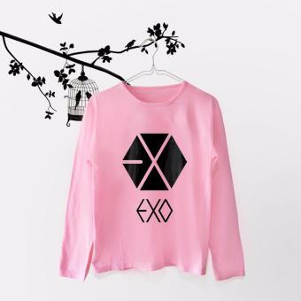 INC Tumblr Tee / T-Shirt / Kaos Wanita Exo Logo - Pink