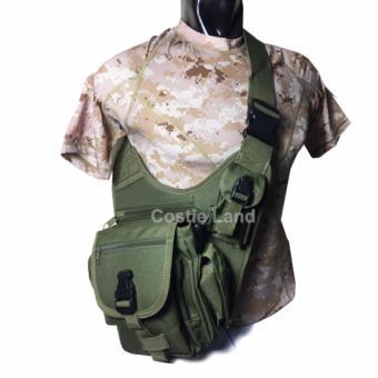 Emersongear - Tas Slempang Army Sling Bag PK 008 - Hijau