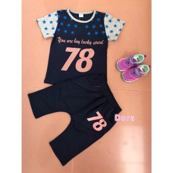 Fashion Anak Import / Pakaian Anak Laki-Laki / Baju Setelan anak cowok/Baju
