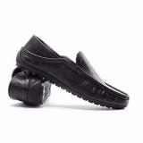Fashion Memakai Sepatu Kulit Pria Mengendarai Mobil Sepatu Loafers Sepatu Kasual Baju Inggris-Internasional - 3