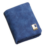Fashion Wanita Dompet Panjang Clutch Wadah Kartu Royal Blue-Intl - 2