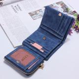 Fashion Wanita Dompet Panjang Clutch Wadah Kartu Royal Blue-Intl - 5