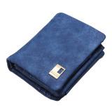 Fashion Wanita Dompet Panjang Clutch Wadah Kartu Royal Blue-Intl - 3