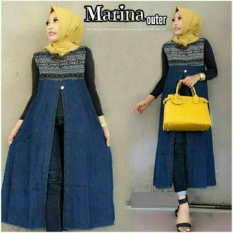 FJCO FJ Marina outer batik / Luaran muslimah / Pakaian muslimah / Fashion muslimah