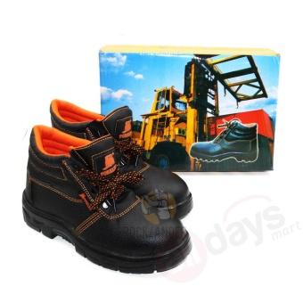 Forklift Sepatu Safety 002 - Hitam