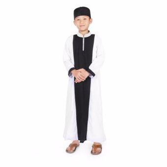 ... Motif Fgm 001d Biru - Daftar Harga ... - Dapatkan Harga baju muslim . Source · Gamis Koko Anak Laki Laki Cowok Murah Simple Ganteng - Hitam…