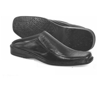 Golfer Gf.4009 Sandal Slop/Bustong Casual Pria-Leather (KULIT)-