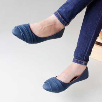 Gratica Flat Shoes AW42 - Navy
