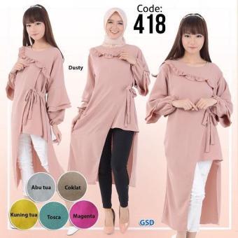 GSD - Baju Wanita / Baju Atasan Wanita / Blouse /Blus Casual 418