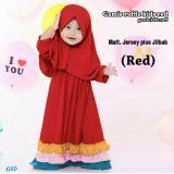 Gambar Produk Rinci GSD-Baju Muslim Anak / Gamis Anak / Baju Anak Cewek / Maxi Dress Anak Ruff Terkini