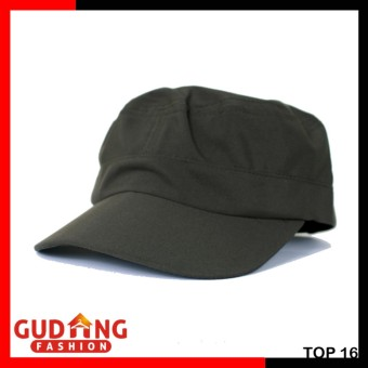 Gudang Fashion - Topi Komando Polos Pria