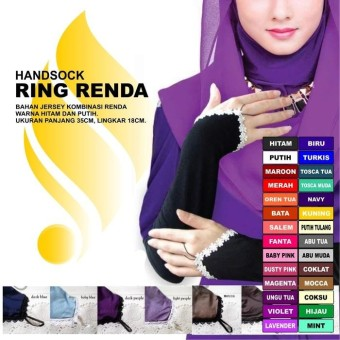 Handsock Ring Renda
