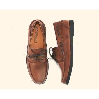 Heroes - Sepatu Pantofel Slop Tali / Sepatu Tali Formal Wingtip