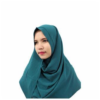 Hijab Instan Pashmina 1 Lubang Pastan Cantik Jilbab Instan