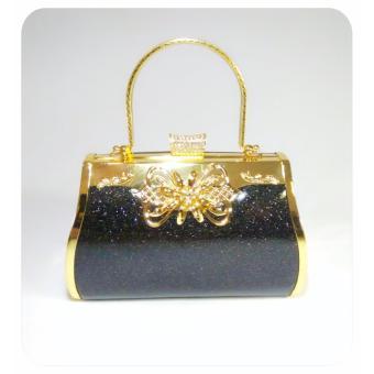 IdolaBags - Tas Pesta Clutch Handbag Besar Wanita Farnell Import Ori bahan  Glitter-glossy a70033ef14