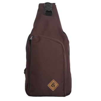 Harga Bag & Stuff Fashion Brand Oregon Shoulder Crossbody Bag - Coklat