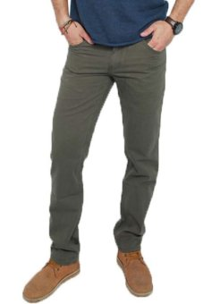 2nd RED 115505T4 Pants Twill - Olive Green
