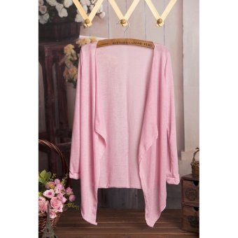 Harga Women's Thin Cardigan Jacket (Pink)