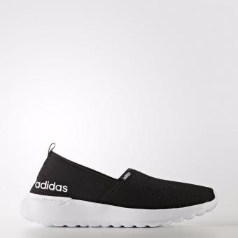 Harga Adidas Neo Cloudfoam Lite Racer Slip On AW4083 Sneakers Shoes - Hitam