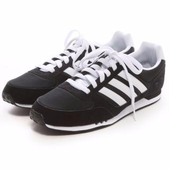 Harga Adidas Neo City Racer F99329 Sneakers Shoes - Hitam