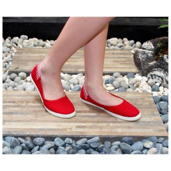 Harga Marlee - Little Thing Flat Shoes - Merah