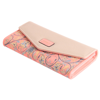 Yingwei Lady Leather Wallet Pink
