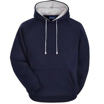 Harga INDEED Sweater Hoodie Biru Dongker