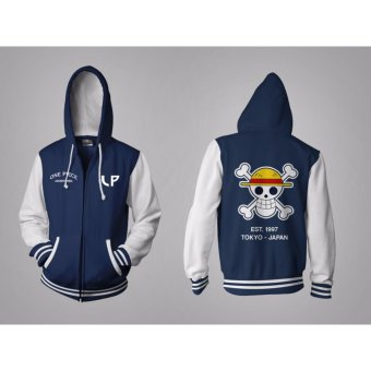 Harga Jaket Anime One Piece LP Navy