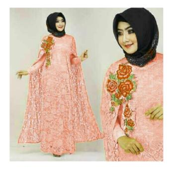 Harga Up2Date Kaftan Malinda [PEACH]