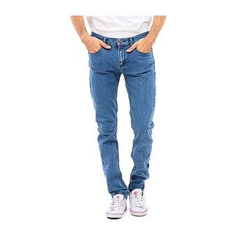 Lee Cooper Jeans Pria Slim Fit Mid Indigo Lc 114