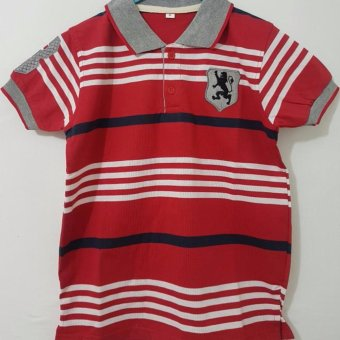 Harga Polo Shirt Stripe