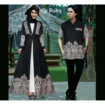 Harga Trend Baju - Couple Ruby Uk L - Black