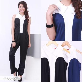 Harga Wildaca Two Tone Sleeveless Jumpsuit