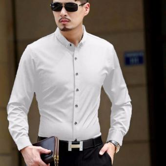 Harga ACE Fashion Men Shirt Andre - (White)