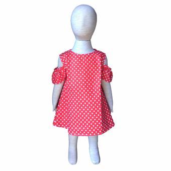 Grow Baju Gaun Harian Anak Sabrina Grow Gown Dress Clothes Sabrina Child Polkadot .