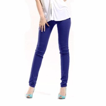 Harga Comfy casual pants blue