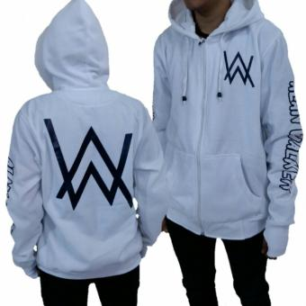 Harga Sweater Hoodie Alan walker White