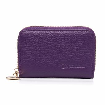 Harga BOSTANTEN Genuine Leather Unisex Card Holder Wallets High Quality Female Credit Card Holders Women Pillow Mini Card holder Purse - intl